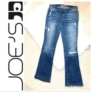 Joe's Jeans Honey high rise distressed  bootcut